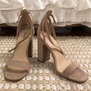Forever 21 Nude Heel Size 7